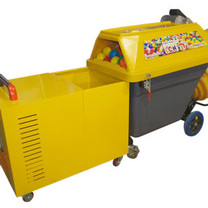 Carrousel indoor playground ball cleaning machine