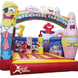 Spongebob inflatable bouncer
