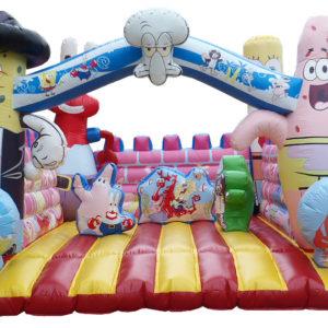 Spongebob inflatable bouncer II