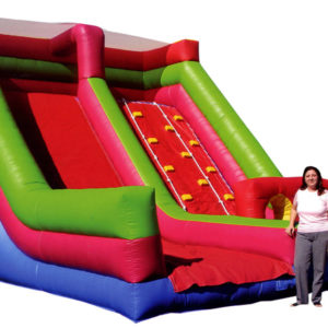 Climb slide inflatable