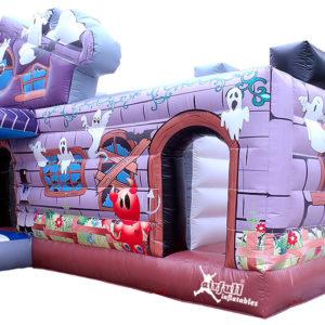 Combo Haunted House Inflatable