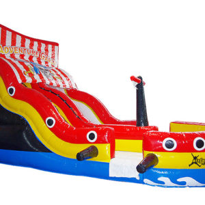 Pirate Ship Slide with pool