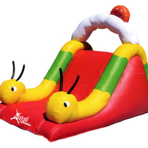 Worm slide inflatable