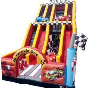Formula 1 slide inflatable