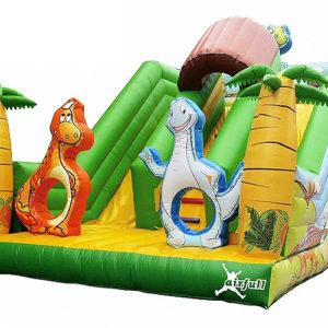 Jurassic Slide Bouncer