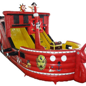 Pirate Galleon Slide Bouncer