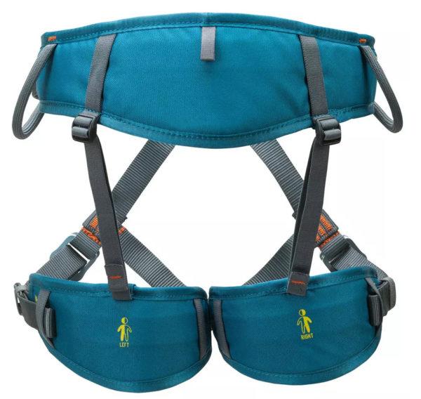 Adult climbing harness