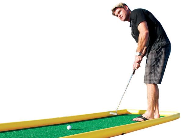 Inflatable mini golf