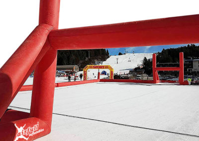Inflatable Rugby Pitch