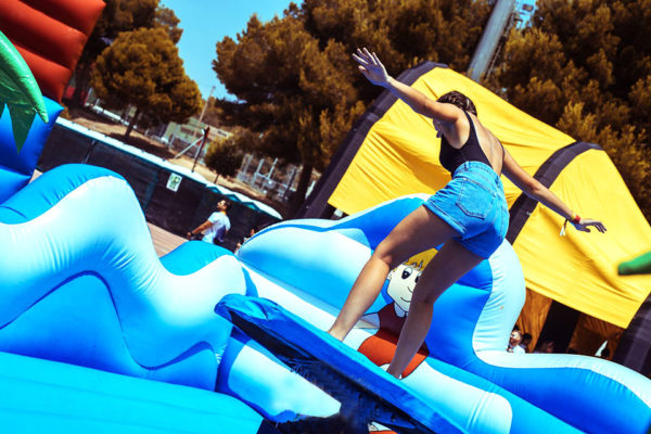 Inflatable Mechanical Surf