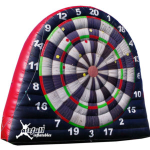 Football darts inflatable