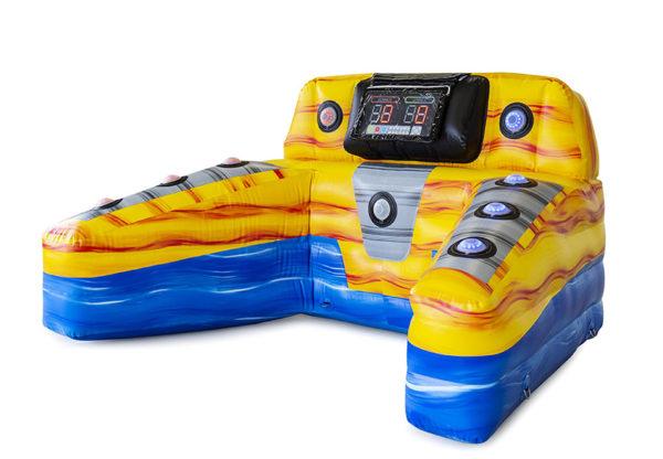 Inflatable interactive Hit & Run