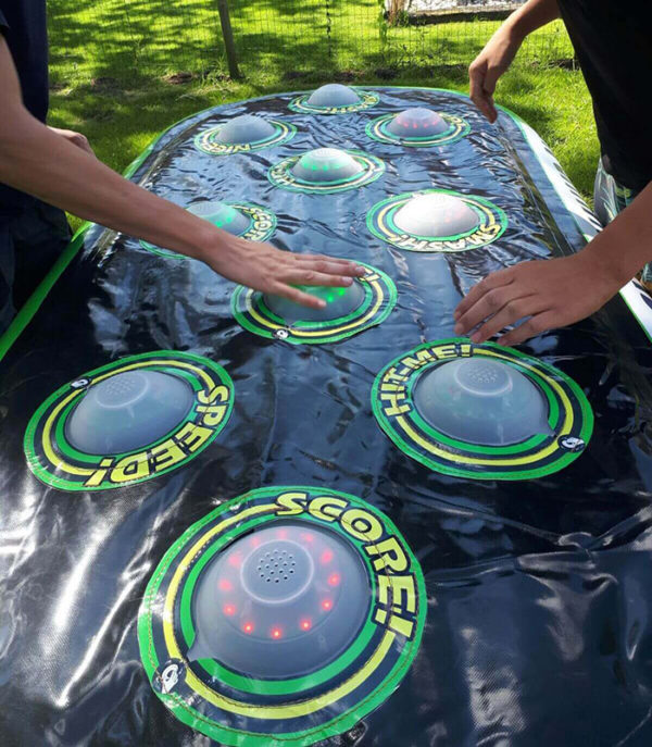 Interactive inflatable game