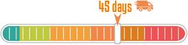 45 days delibery