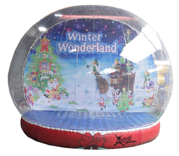 Snowglobe inflatable
